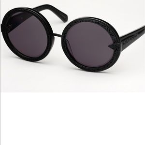Black Karen Walker sunglasses